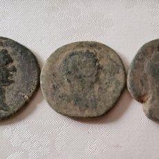 Monedas Imperio Romano: LOTE 2 SEXTERCIOS + 1 AS. Lote 277590248