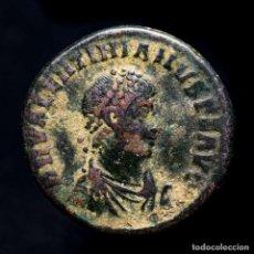 Monedas Imperio Romano: VALENTINIANO II Æ MAIORINA ANTIOQUIA REPARATIO REIPVB ANTΓ (3072). Lote 277602303