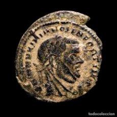 Monedas Imperio Romano: DIVO MAXIMIANO, BAJO CONSTANTINO I - ROMA, REQVIES OPTIM MERIT / RQ. Lote 277607538