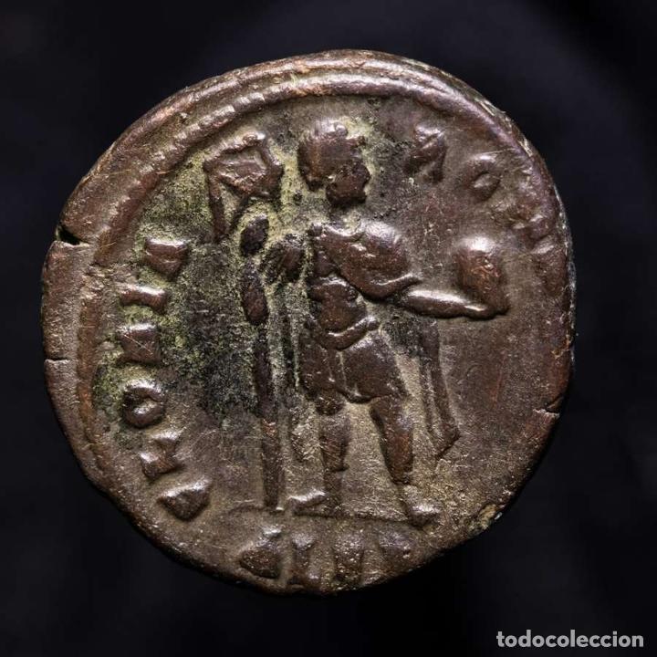 Monedas Imperio Romano: Teodosio I 379-383 Maiorina Alejandria GLORIA ROMANORVM ALEB (6222) - Foto 2 - 277610973