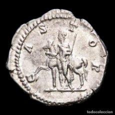 Monedas Imperio Romano: GETA (198-211 DC) DENARIO DE PLATA. ROMA. CASTOR. Lote 277677453