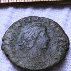 Monedas Imperio Romano: MONEDA ROMANA. EMPERADOR. VALENTINIANO. BRONCE. Lote 277697823