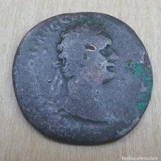 Monedas Imperio Romano: MONEDA ROMANA. EMPERADOR.DOMICIANO.AS BRONCE. Lote 277723098