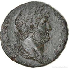 Monedas Imperio Romano: [#897829] MONEDA, HADRIAN, SESTERCIO, 132-134, ROME, EXTREMELY RARE, MBC+, BRONCE, RIC:--. Lote 278175733