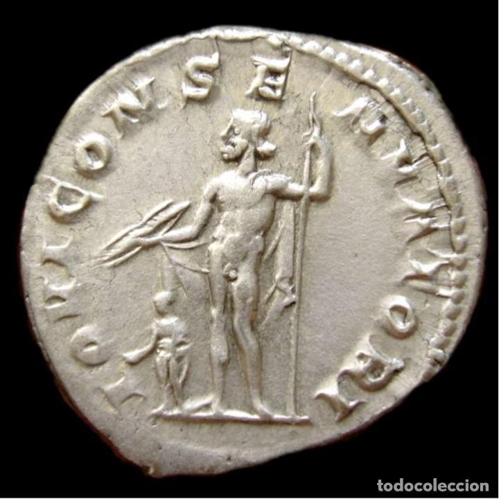 Monedas Imperio Romano: Imperio Romano Gordiano III. Antoniniano Plata IOVI CONSERVATORI EBC - Foto 4 - 278188003