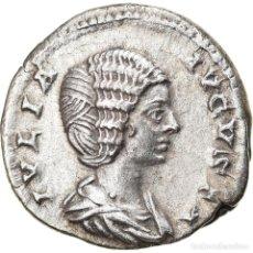 Monedas Imperio Romano: [#897751] MONEDA, JULIA DOMNA, DENARIUS, 196-211, ROME, MBC+, PLATA, RIC:577. Lote 278195183