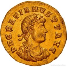 Monedas Imperio Romano: [#867372] MONEDA, GRATIAN, SOLIDUS, 367-375, TRIER, EBC, ORO, RIC:17G. Lote 278210148