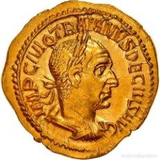 Monedas Imperio Romano: [#867370] MONEDA, TRAJAN DECIUS, AUREUS, 250, ROMA, EBC+, ORO, RIC:28. Lote 278210663