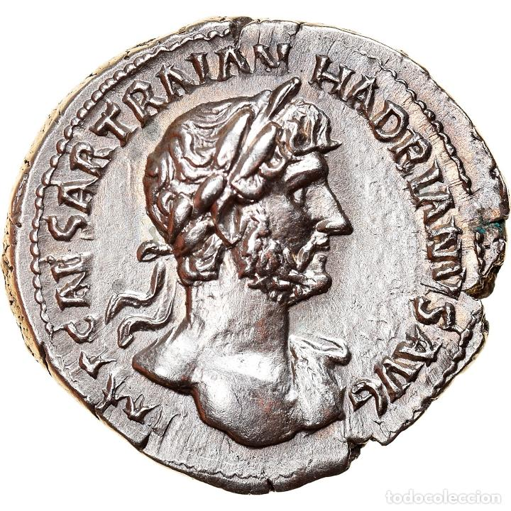 [#867368] MONEDA, HADRIAN, DENARIUS, 119, ROMA, EBC+, PLATA, RIC:139 (Numismática - Periodo Antiguo - Roma Imperio)