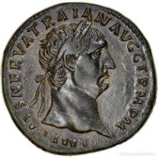 Monedas Imperio Romano: [#867367] MONEDA, TRAJAN, SESTERCIO, 100, ROMA, MBC+, BRONCE, RIC:413. Lote 278215168