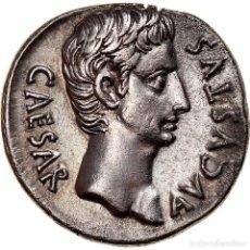 Monedas Imperio Romano: [#867366] MONEDA, AUGUSTUS, DENARIUS, 19-18 BC, COLONIA CAESAR AUGUSTA, EBC, PLATA. Lote 278222823