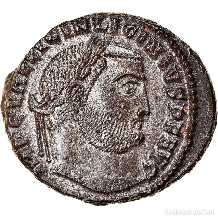 [#867299] MONEDA, LICINIUS I, FOLLIS, 312-313, CYZICUS, EBC+, COBRE, RIC:100 (Numismática - Periodo Antiguo - Roma Imperio)