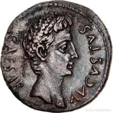 Monedas Imperio Romano: [#867365] MONEDA, AUGUSTUS, DENARIUS, 19-18 BC, COLONIA CAESAR AUGUSTA, EBC+, PLATA. Lote 278266443