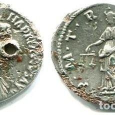 Monedas Imperio Romano: HADRIANO, DENARIO FORRADO. Lote 278487468