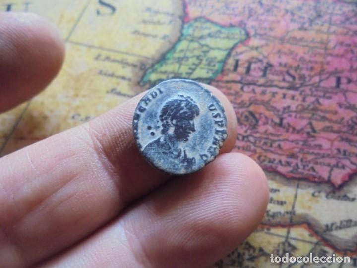 Monedas Imperio Romano: bonita moneda del bajo imperio ,reverso escaso - Foto 3 - 278511048
