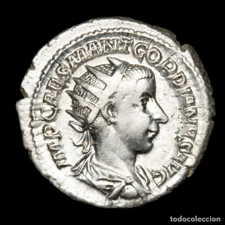 IMPERIO ROMANO - GORDIANO. ANTONINIANO AR. AEQVITAS AVG (XB507) (Numismática - Periodo Antiguo - Roma Imperio)