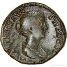 Monedas Imperio Romano: [#970424] MONEDA, FAUSTINA II, SESTERCIO, 147-150, ROME, BC+, BRONCE, RIC:1387. Lote 279448173