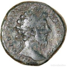Monedas Imperio Romano: [#970433] MONEDA, MARCUS AURELIUS, SESTERCIO, 171, ROME, BC+, BRONCE, RIC:998. Lote 279449273