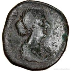 Monedas Imperio Romano: [#970427] MONEDA, DIVA FAUSTINA II, SESTERCIO, 175-176, ROME, CONSECRATIO, BC, BRONCE. Lote 279450503