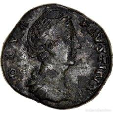 Monedas Imperio Romano: [#970426] MONEDA, FAUSTINA I, SESTERCIO, 141, ROME, BC+, BRONCE, RIC:1128. Lote 279450628