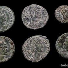 Monedas Imperio Romano: LOTE DE 6 MONEDAS ROMANAS.. Lote 279473478