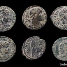 Monedas Imperio Romano: LOTE DE 6 MONEDAS ROMANAS.. Lote 279473578