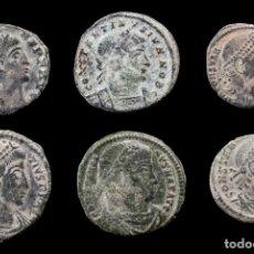 Monedas Imperio Romano: LOTE DE 6 MONEDAS ROMANAS.. Lote 279473688