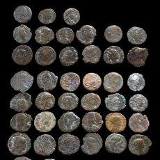 Monedas Imperio Romano: LOTE DE 53 MONEDAS ROMANAS.. Lote 279474768
