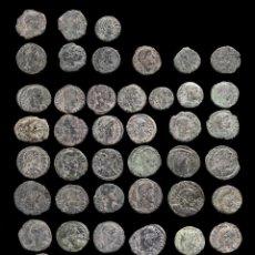 Monedas Imperio Romano: LOTE DE 50 MONEDAS ROMANAS.. Lote 279475033