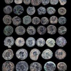 Monedas Imperio Romano: LOTE DE 42 MONEDAS ROMANAS.. Lote 279475283