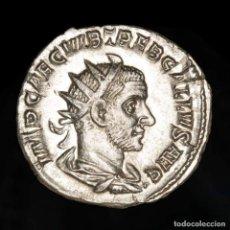 Monedas Imperio Romano: TREBONIANO GALLO. ANTONINIANO PLATA. ROMA. FELICITAS PVBLICA ✩ (597). Lote 279496303