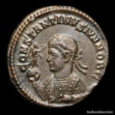 Monedas Imperio Romano: CONSTANTINO II, FOLLIS, TRIER 320 DC. VIRTVS EXERCIT / STR (635). Lote 279503748