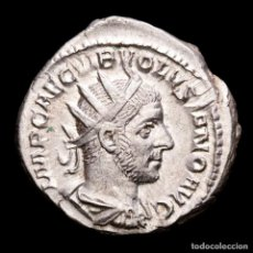 Monedas Imperio Romano: VOLUSIANO (251-253 D.C.). ANTONINIANO AR. ROME. PIETAS AVGG (615). Lote 279504643