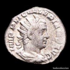 Monedas Imperio Romano: VALERIANO I (253-260 DC.) ANTONINIANO AR, VIMINACIUM. VIRTVS AVG. Lote 279507058