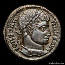 Monedas Imperio Romano: CONSTANTINO I - FOLLIS SISCIA, 321 DC. VOT XX CORONA / ASIS PALMA. Lote 279515598
