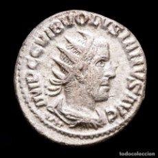 Monedas Imperio Romano: VOLUSIANO. ANTONINIANO AR. ANTIOQUÍA. IVNO MARTIALIS VII JUNO.. Lote 279505603