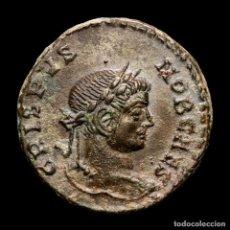 Monedas Imperio Romano: CRISPO, CESAR, FOLLIS,LUGDUNUM BEATA TRANQVILLITAS C-R PLG (645). Lote 279525583