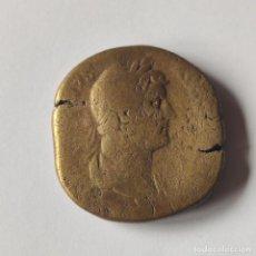 Monete Impero Romano: MONEDA IMPERIO ROMANO. SESTERCIO DE ADRIANO HADRIANO. 117-138 D.C. BRONCE. ROMA. ORIGINAL.. Lote 287259198