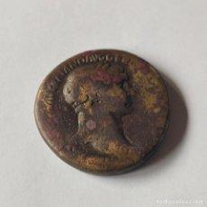 Monete Impero Romano: MONEDA IMPERIO ROMANO. SESTERCIO DE TRAJANO. 98-117 D.C. BRONCE. ROMA. ORIGINAL.. Lote 287260593