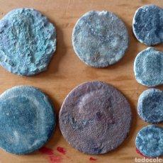 Monedas Imperio Romano: LOTE 8 MONEDAS ROMANAS BAJO IMPERIO. Lote 287697673