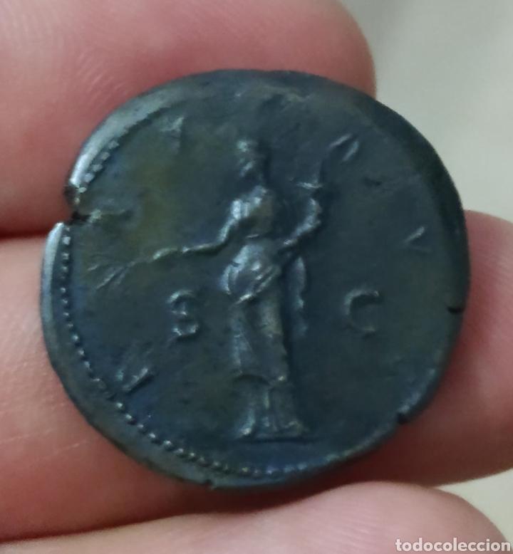 Monedas Imperio Romano: Precioso As de Adriano - Foto 2 - 287795553