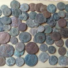 Monete Impero Romano: LOTE DE 80 MONEDAS DEL BAJO IMPERIO. Lote 287883808