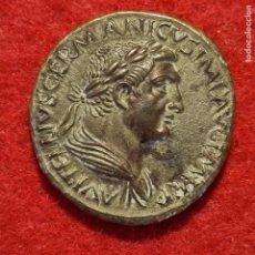 Monedas Imperio Romano: MONEDA VITELIO AÑO 69 SESTERCIO FALSA DE EPOCA PADUANO ??? C8. Lote 287910353