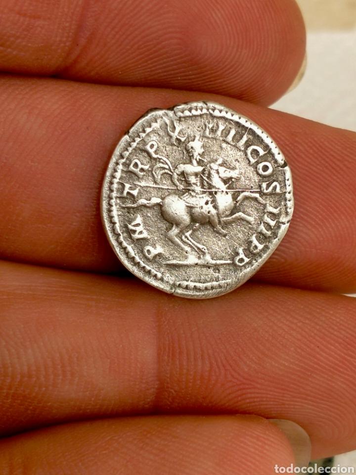DENARIO SÉPTIMO SEVERO (Numismática - Periodo Antiguo - Roma Imperio)