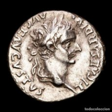 Monedas Imperio Romano: TIBERIO. DENARIO. 36-37 D.C. LUGDUNUM. (TRIBUTE PENNY). LIVIA.. Lote 287982868