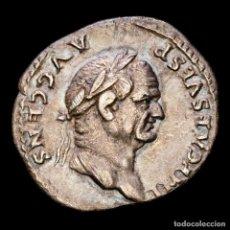 Monedas Imperio Romano: VESPASIANO (69-79 D.C.) DENARIO, PLATA. ROMA, 73 DC. PONTIF MAXIM.. Lote 287985803