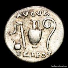 Monedas Imperio Romano: VESPASIANO. DENARIO. 72-73 D.C. ROMA. AVGVR TRI POT IMPLEMENTOS. Lote 287986643