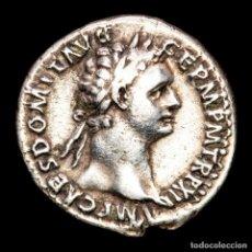 Monedas Imperio Romano: DOMICIANO DENARIO, ROMA 93-94 DC. IMP XXII COS XVI CENS PPP MINERVA. Lote 287988058