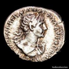 Monedas Imperio Romano: TRAJANO (98-117) DENARIO ROMA VIRTUS PARTHICO PM TRP COS VI PP SPQR. Lote 288028003