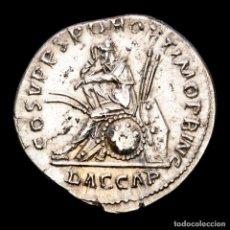 Monedas Imperio Romano: TRAJANO (98-117) DENARIO. COS V P P SPQR OPTIMO PRINC // DAC CAP. Lote 288059373